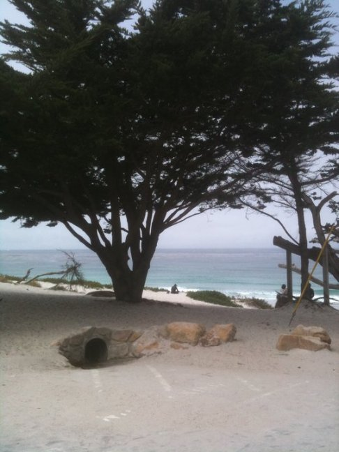 Carmel Beach photo by Leslie Macchiarella