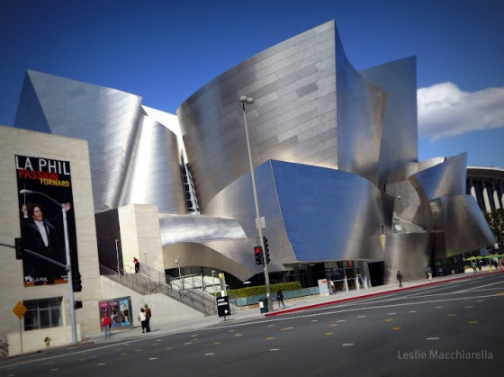 Los Angeles Disney Hall photo by Leslie Macchiarella