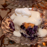 San Francisco Blueberry Cake