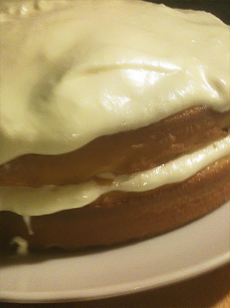 Vanilla Cream Cake overview