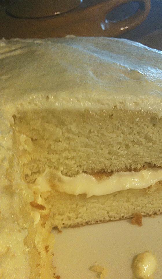 Vanilla Cream Cake 3