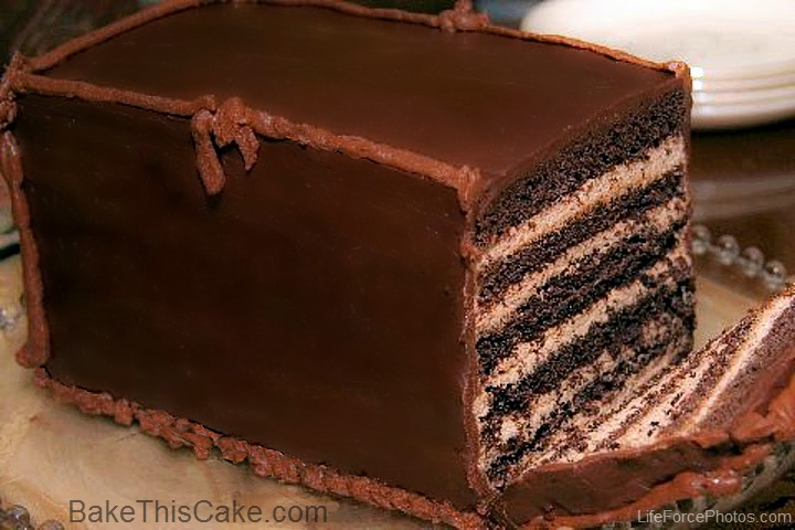 Chocolate Mocha Birthday Cake Recipe