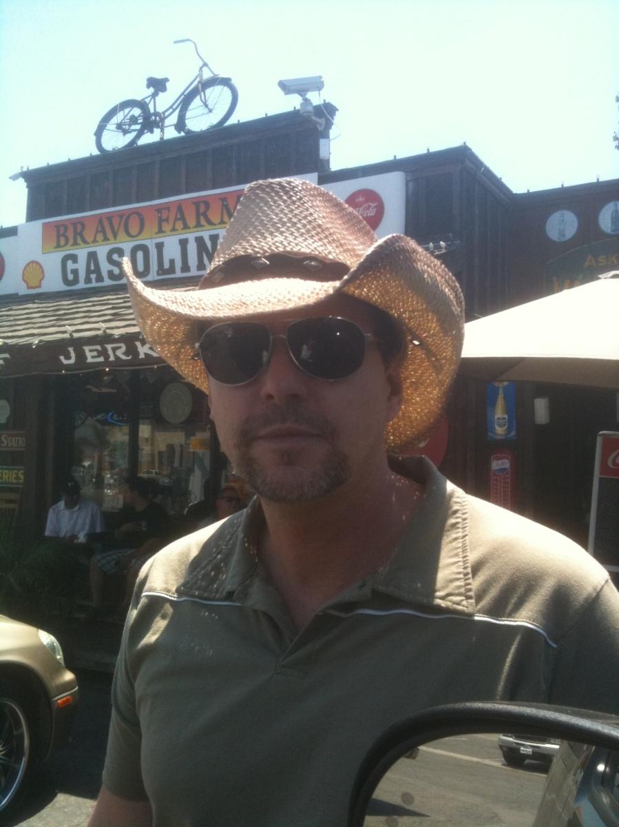 Mark at Bravo Farms searching for Date Shake BakeThisCake