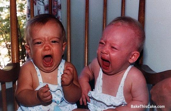 Babies Crying BakeThisCake dot com