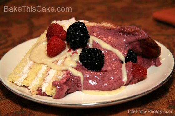 Bavarian Cream Mousse for the Casanova Charlotte Rouse LifeForcePhotos Bake This Cake