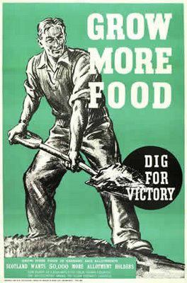 Victory Garden Poster WWII