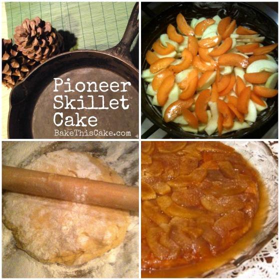 Pioneer Skillet Cake Recipe bakethiscake
