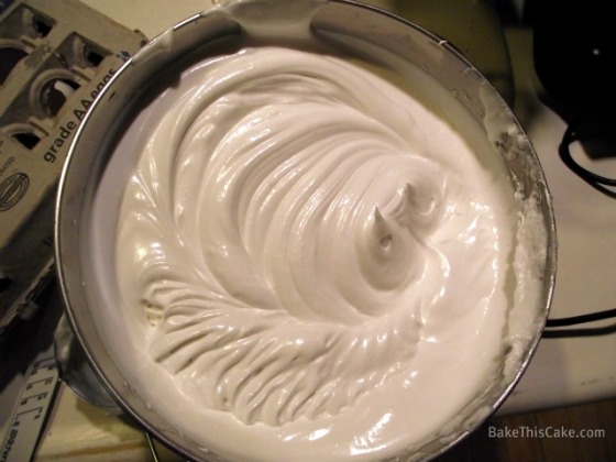 Boiled Frosting for Lady Baltimore Cake by Bake This Cake