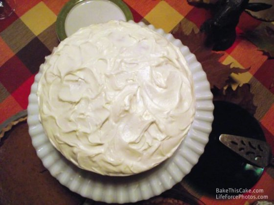 best holiday cake vintage cake recipe Whipped Cream Cake BakeThisCakecom LifeForcePhotoscom