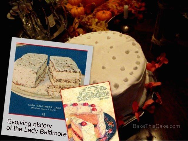 Lady Baltimore Cake Recipe History