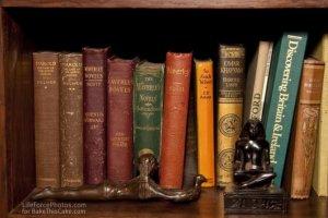 Holiday reading at the river house BakeThisCakecom Photo by LifeForcePhotoscom