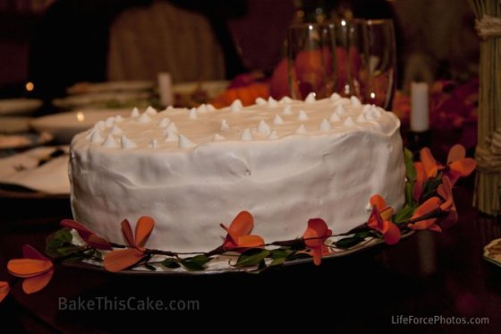 Lady Baltimore Cake by BakeThisCake tilt angle Photo by LifeForcePhotos