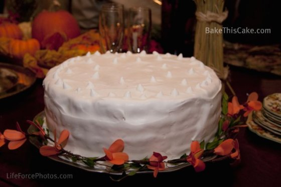 Lady Baltimore Cake side overview by BakeThisCake Photo by LifeForcePhotos