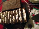 One Cowboy Cake sliced and frosted by BakeThisCake