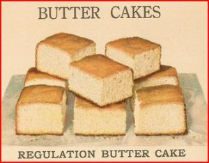 Regulation Butter Cake from p 3 of 1921 Igleheart's Cake Secrets