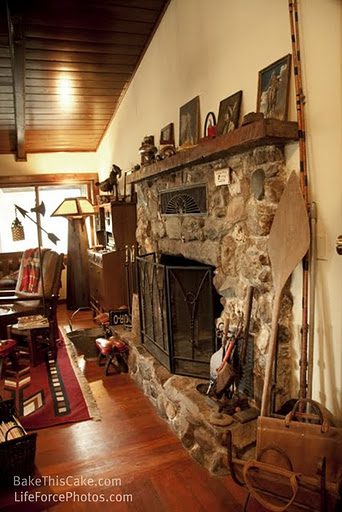 river house fireplacefrom the side  photo by LifeForcePhotoscom