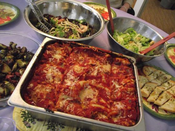 Lasagna for potluck office party