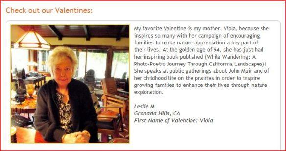 Mom It Forward Valentine Winner Viola