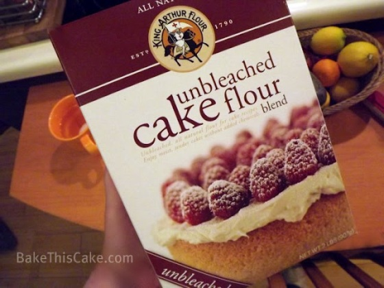 Testing Sponsor's product King Arthur Unbleached Flour for cupid cakes Bake This Cake