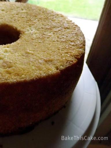 Abe Lincoln Vanilla Almond Cake ready to travel Bake This Cake