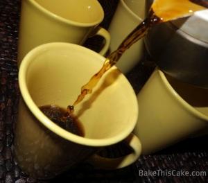 Coffee Time Photo by Leslie Macchiarella for BakeThisCake