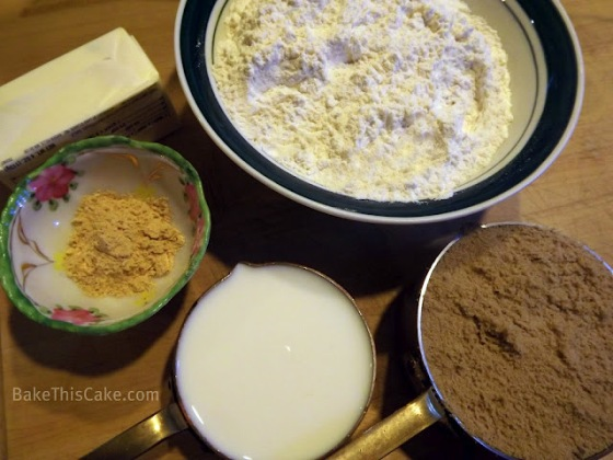 Fairy Gingerbread Ingredients BakeThisCake