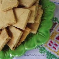 1930 Fairy Gingerbread on Upside-Down Baking Pan