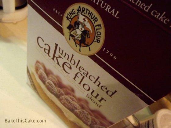 King Arthur Unbleached Cake Flour for Abe Lincoln Vanilla Almond Cake BakeThisCake