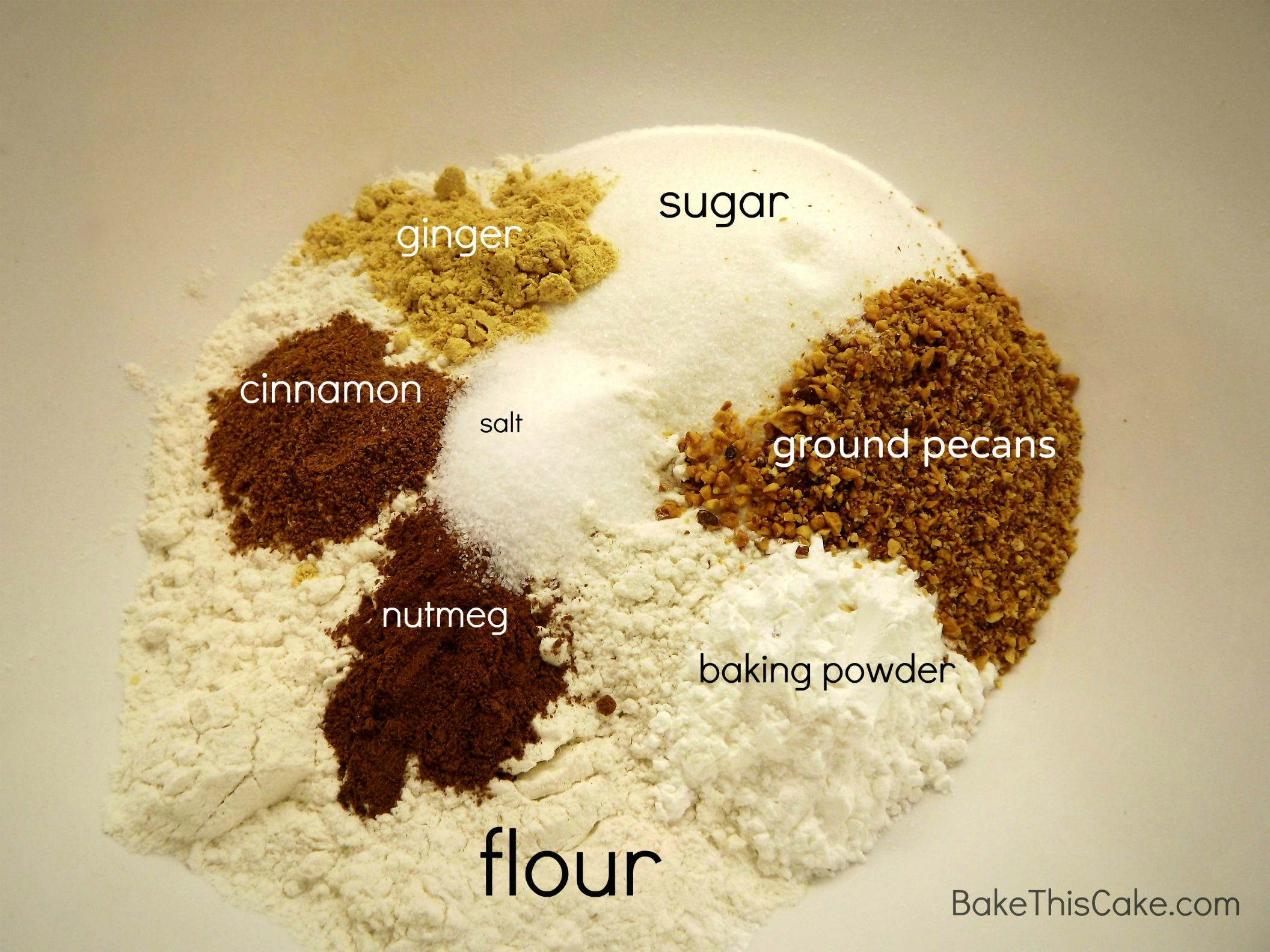 Vanilla Cake With Wheat Flour