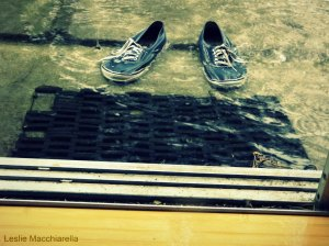 Wipe Your Shoes at the Door photo by Leslie Macchiarella