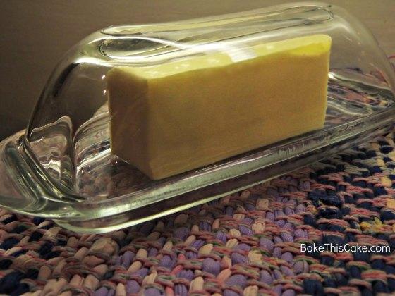 Butter cube BakeThisCake