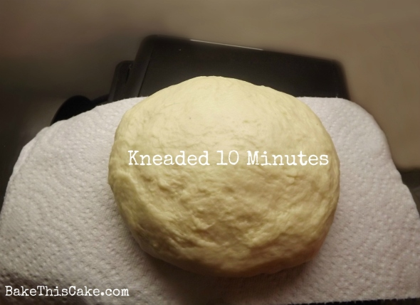 Bread #Dough After 10 Mins Kneading Bake This #Cake