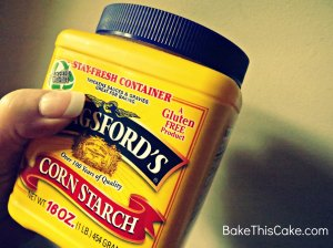 Gluten free corn starch BakeThisCake