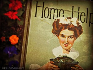 Home Helps vintage cookbook photo by Bake This Cake