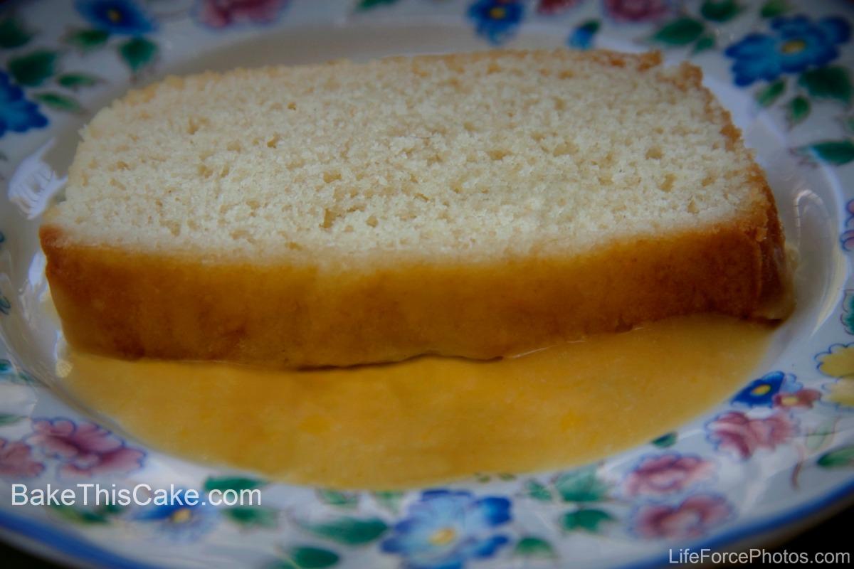 Old Fashioned Sunshine Cake Recipe