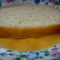 Julia Cakes with Mango Custard Sauce -- A Lovely Vintage Vanilla Tea Cake Made Modern