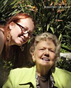 Julie with Granny Vi BakeThisCake