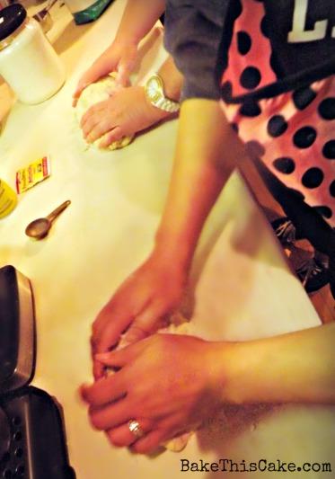 Kneading Bread Dough BakeThisCake