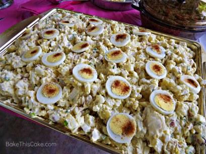 Leslie's Old Fashioned Potato Salad For a Crowd BakeThisCake