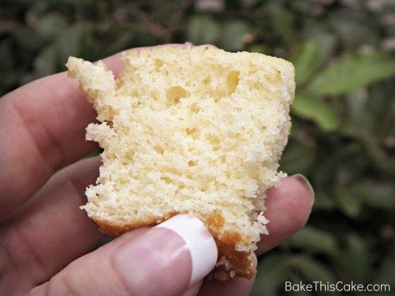 Tasting a bite of Julia Bake #Bake This #Cake