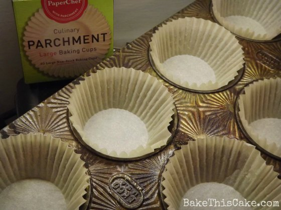 Test of Paper Chef Parchment Baking Cups by #Bake This #Cake