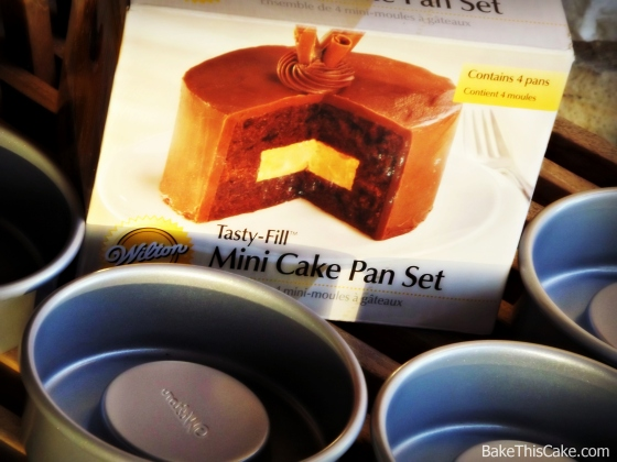 Wilton Mini Cake Pan Set Bake This Cake