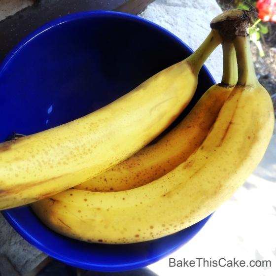 Bananas for Banana Cake Filling BakeThisCake