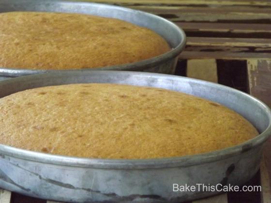 Banana Cakes Cooling  BakeThisCake