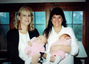 Leslie w Lindsey & Julie w Ashley