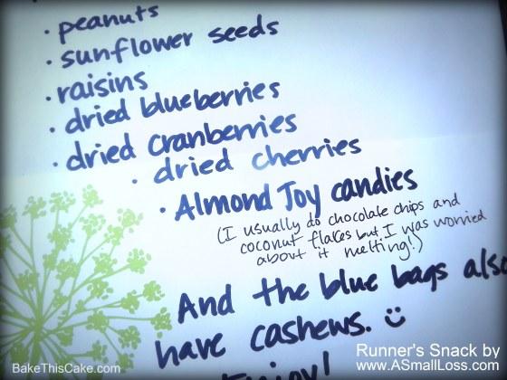 Runner's Snack Recipe by ASmallLoss BakeThisCake