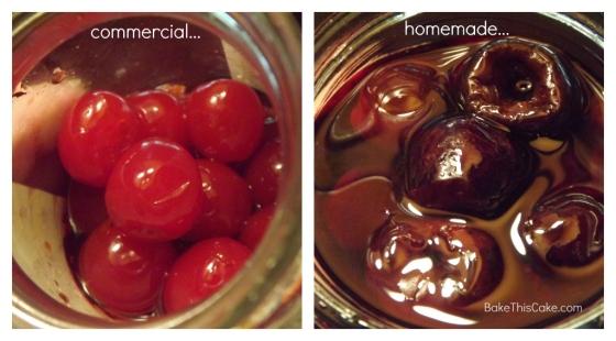 Comparing commercial and homemade maraschino cherries Bake This Cake