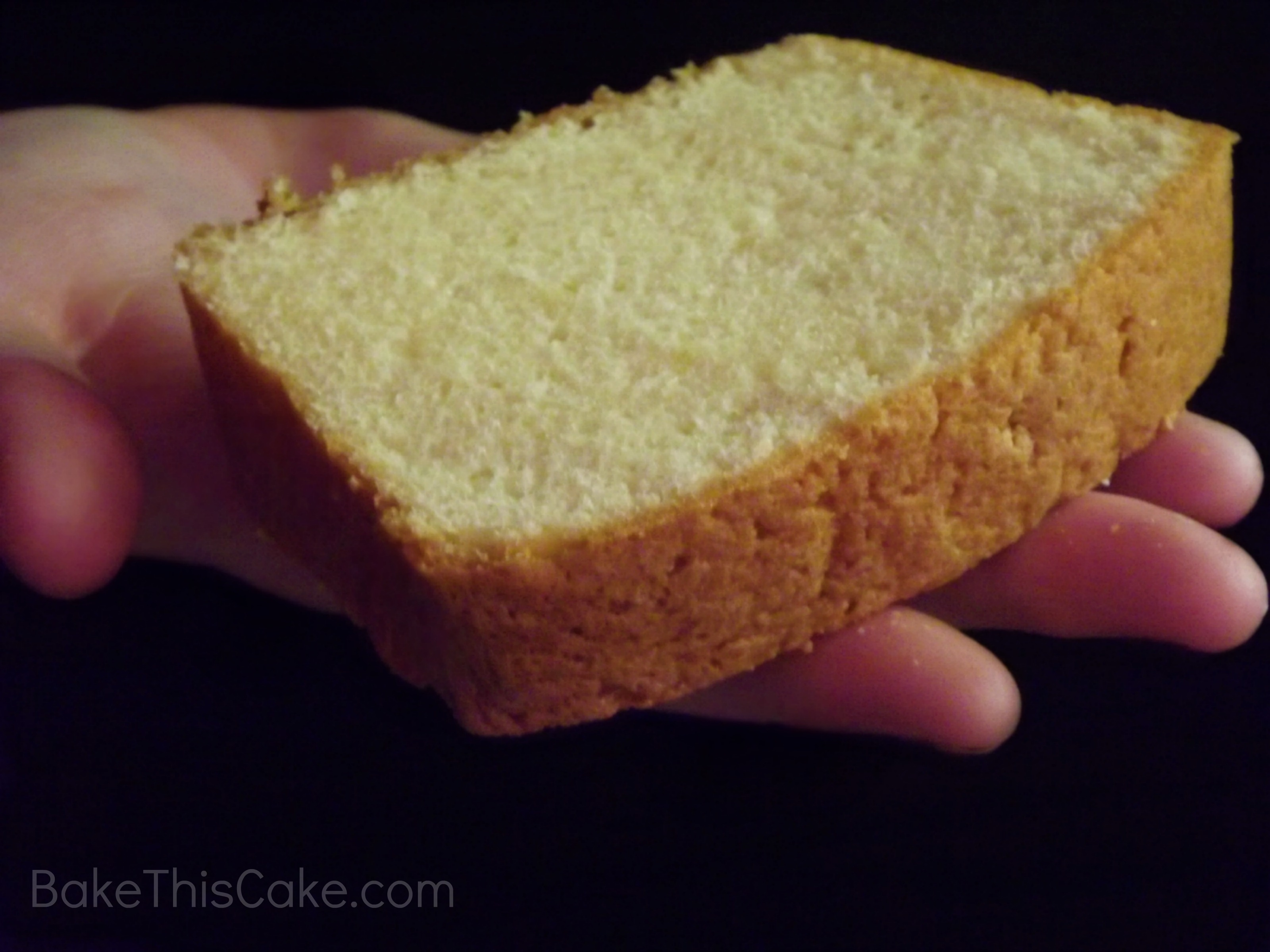 Old Fashioned Pound Cake Loaf