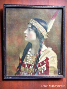 Indian Maiden Painting photo by Leslie Macchiarella