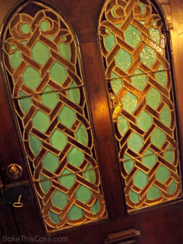 River House Stained Glass Door Bake This Cake